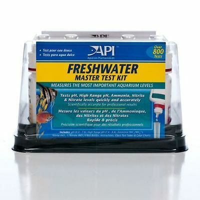 API Aquarium Fish Tank Testing Kit Fresh Water Master Kit