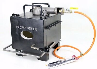 BECMA Blacksmith`s Gas Forge for Knifemaking GFR.4 neo