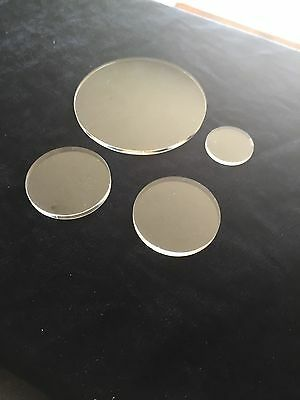 CLEAR PERSPEX ACRYLIC CIRCLE ROUND DISC 2mm 3mm 4mm 5mm 6mm 8mm 10mm