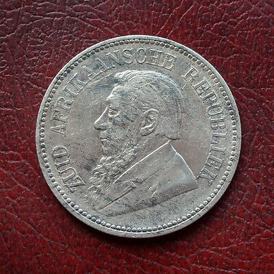 South Africa 1895 silver 2½ shillings