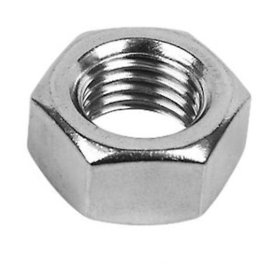 M8 / 8mm HEX FULL NUTS DIN 934 A2 STAINLESS STEEL – VARIOUS PACK SIZES