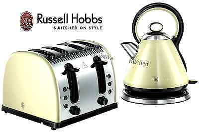 Russell Hobbs Legacy Kettle and Toaster Set Vintage Kettle & 4 Slice Toaster New