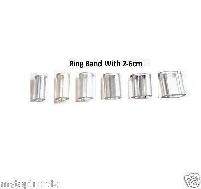 Ring Snuggies Plastic Adjuster Ring Size Reducer Clip Pack Of 6 Assorted Size