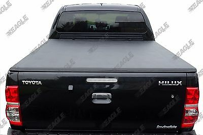 Toyota Hilux Invincible Soft Tri Fold Tonneau Cover Eagle1 Premium Folding Cover