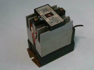 Square D Control Relay A600 8501X020