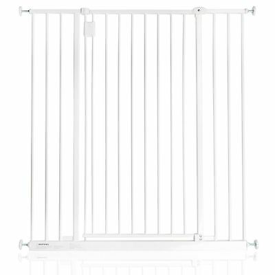 Safetots Extra Tall Pressure Pet Baby Hallway Safety Stair Gate White 97cm-103cm