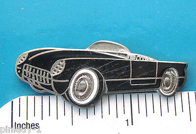1953  Chevrolet Corvette -  hat pin , lapel pin , tie tac , hatpin GIFT BOXED
