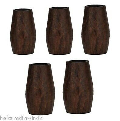 Clarinet Barrels GIVE ANY LENGTH set of 5 Cocobolo wood Fatboy barrel BRAND NEW