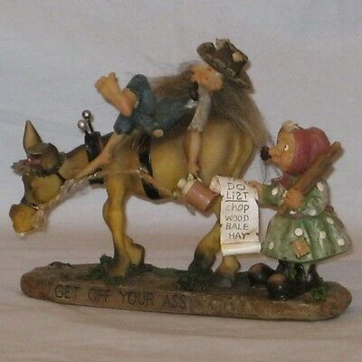 Hillbilly HoneyDo Figurine