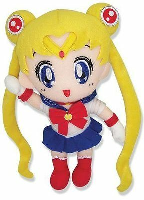 """1x Official Authentic Great Eastern (GE-6971) 8"""" Sailor Moon Stuffed Plush Toy"""