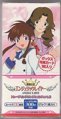 Angelic Layer Trading Collection Part 2 Sealed Box Japanese Clamp