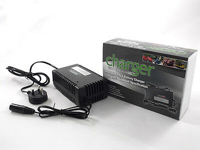 Leoch MOBILITY SCOOTER Battery Charger 24V 5Amp (4Amp) for 20Ah to 60Ah Batterys
