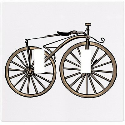 Vintage Bicycle Retro Antique Wall Plate Decorative Light Switch Plate Cover