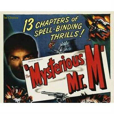 The Mysterious Mr. M - Cliffhanger Serial Movie DVD Frank Richard Martin Pamela