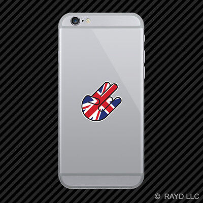 British Shocker Cell Phone Sticker Mobile England UK Great Britian GBR GB