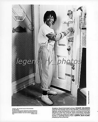 1986 Jumpin' Jack Flash Movie Press Photo Whoopi Goldberg