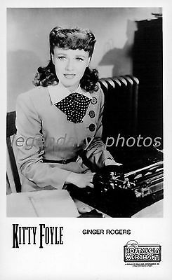 1940 Kitty Foyle Movie Press Photo Ginger Rogers