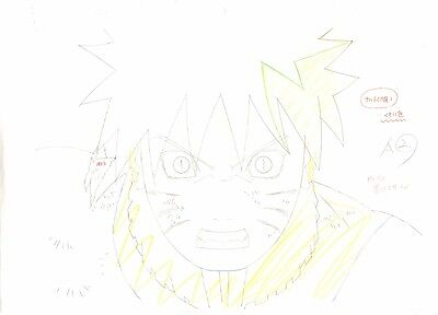 Anime Genga not Cel Naruto #152