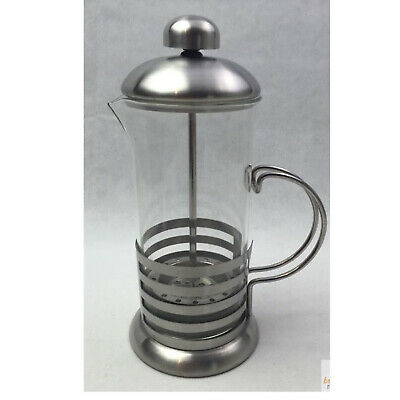 350ml Stainless Steel Glass Coffee Cup French Plunger Press Tea Maker New