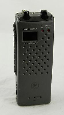 Ge General Electric Model No. 35980-A Citizen Band Radio Missing Antenna Black