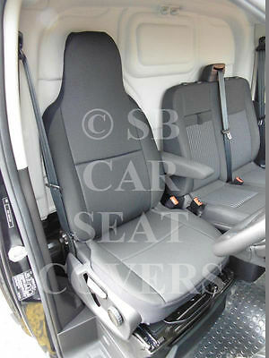 Ford Transit Van 2000 - 2005 Seat Covers Rossini Anthracite 1 Driver Seat Only