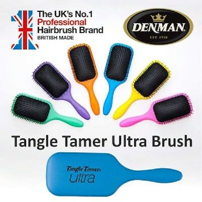 Denman Tangle Tamer ULTRA D90L Hair Brush - Paddle Detangling Wet or Dry LARGE
