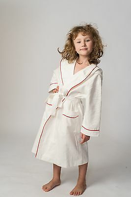 Kids'  Bathrobe 100% Linen for Boys and Girls New