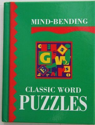Mind-Bending Classic Word Puzzles (Mind Bending Puzzle Books), Unknown, Used; Ve