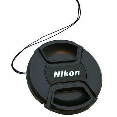LC52 string For Nikon Center-Pinch Snap-On Front Lens Cap 52mm