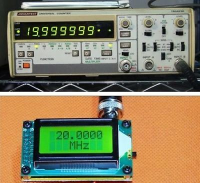 New High Accuracy 1-500M Frequency Counter Tester Frequency Measurement Meter