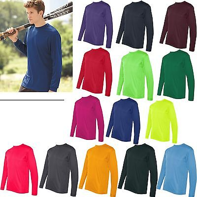 C2 Sport - Long Sleeve Performance T-Shirts Mens sizes S-3XL Polyester  5104 New