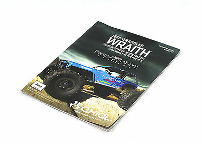 AXIAL WRAITH POSION SPYDER RTR 1/10 instructions & parts manual