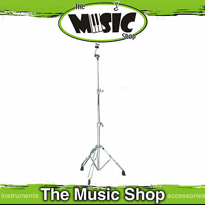 DXP Straight Chrome Cymbal Stand with Double Braced Legs - Height Adjustable New
