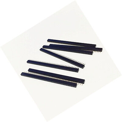10pcs 2mm 2.0mm Pitch 1x40 Pin Single Row Female Pin Header Strip For Arduino