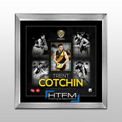 Trent Cotchin Richmond Tigers AFL Player Print Framed - OFFICIAL AFL MEMORABILIA