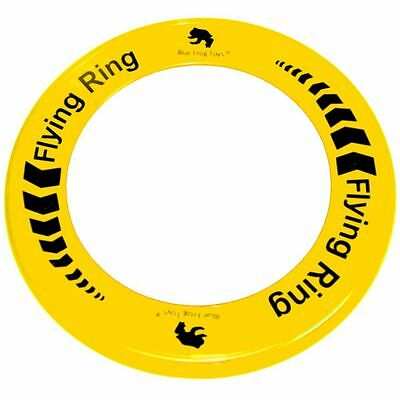 Yellow Flying Ring - Fun Outdoor Summer Toy - Frisbee Type Toy