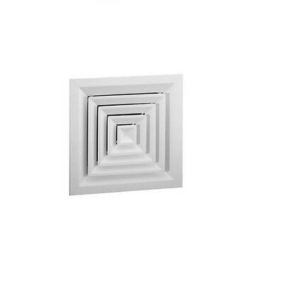 AC One Metal Face Diffuser-Lay in Ceiling Grill 450 x 450 Neck 595 x 595 Face