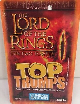 New The Lord Of The Rings - The Two Towers Card Game Top Trumps Specials Sealed
