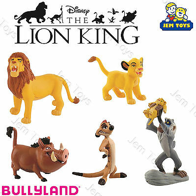 Disney The Lion King Deluxe Figures Figurines Toy Cake Toppers Bullyland Simba