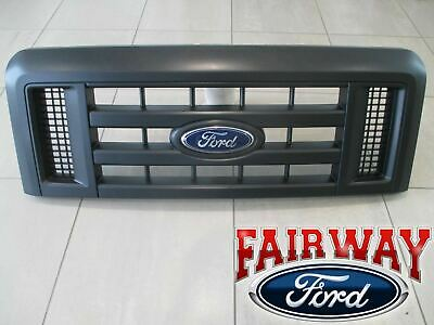 08 thru 17 Econoline E150 E250 E350 E450 OEM Genuine Ford Parts Black Grille NEW