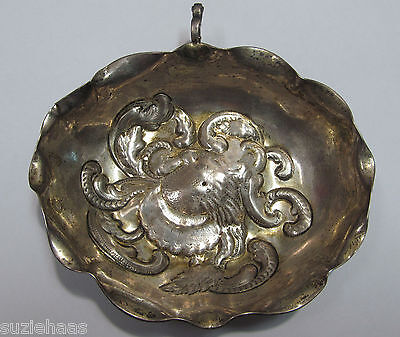 Antique 17Th Century Silver Sommelier Wine Tasting Cup