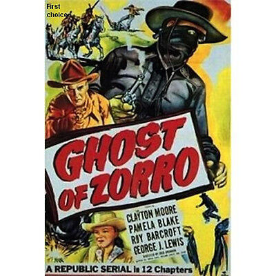 The Ghost of Zorro - Cliffhanger Movie Serial DVD Clayton Moore  Pamela Blake