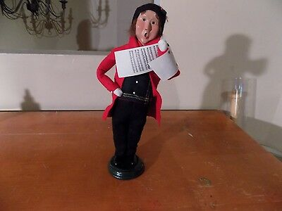 Byers Choice Caroler Traditional Adult 2000- Retired