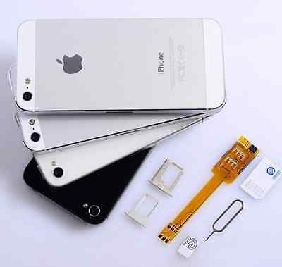 Hot Sales Brand New Dual SIM Card Adapter Converter for Apple iPhone 5 6 Perfect