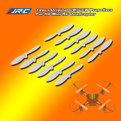 12 pcs Original RC Part JJRC H8 Mini CW/CCW Propellers for RC H8 Mini Quadcopter