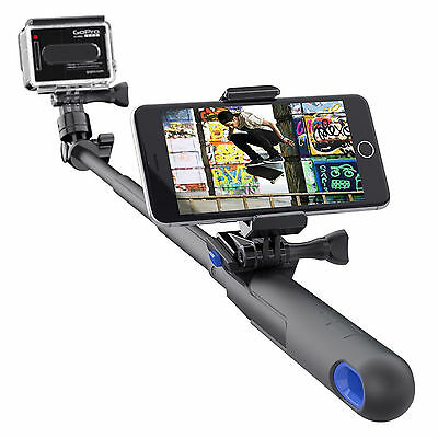 """SP Gadgets Genuine GoPro Accessories 28"""" Inch Extendable Wi-Fi Remote Smart Pole"""