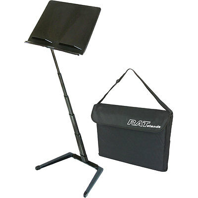RAT 69Q13 Orchestral 'Jazz' Music Stand Including RAT 69Q2 Carry Bag