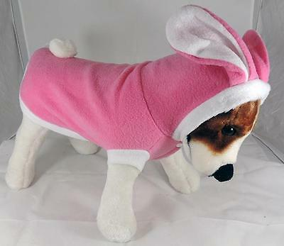 Hooded Pink Easter Bunny Costume for Dogs - 4 Sizes - Dog Clothes ~ Clothing