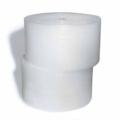 "2 ROLLS!!!! 350 ft. 3/16"" SMALL BUBBLE CUSHIONING WRAP Wide 12"" + Perforated 12"""