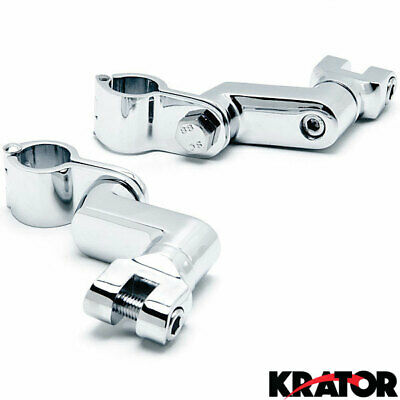 Engine Guard Peg Clamps For Yamaha Royal Star Venture Classic Royale Deluxe